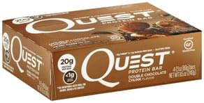 Quest Protein Bar Double Chocolate Chunk Flavor