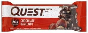 Quest Bar Protein Bar Chocolate Hazelnut Flavor