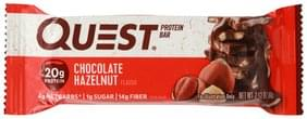 Quest Protein Bar Chocolate Hazelnut Flavor