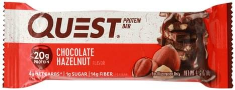 Quest Chocolate Hazelnut Flavor Protein Bar - 2.12 oz