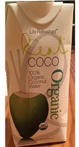Life Refreshed 100% Organic Coconut Water