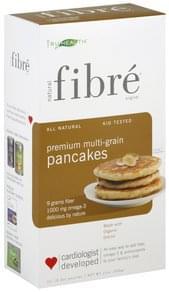 Fibre Pancakes Premium Multi-Grain, Natural
