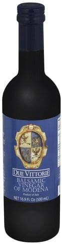 Due Vittorie of Modena Balsamic Vinegar - 16.9 oz