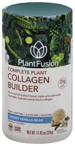 PlantFusion Collagen Builder Complete Plant, Creamy Vanilla Bean