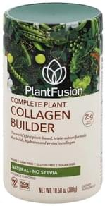 PlantFusion Collagen Builder Complete Plant, Natural, No Stevia