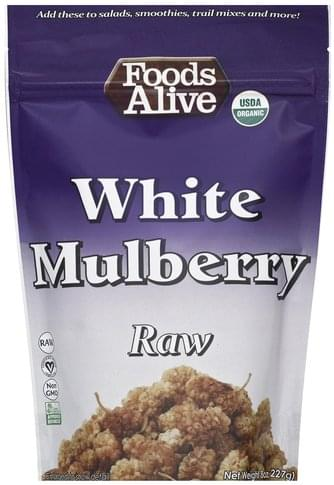 Foods Alive Raw Wild Mulberry - 8 oz