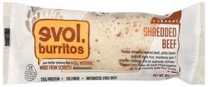 Evol Burrito Burrito Shredded Beef