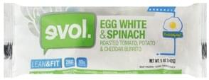 Evol Burrito Egg White & Spinach