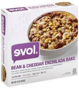 Evol Bean & Cheddar Enchilada Bake