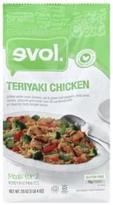 Evol Teriyaki Chicken