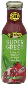 Cell nique Super Green Drink Organic, Pomegranate
