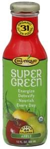 Cell nique Super Green Drink Organic, Apple