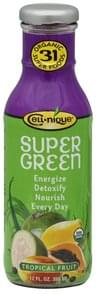 Cell nique Super Green Drink Organic, Tropical Fruit
