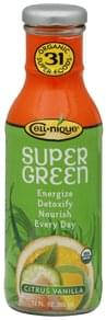 Cell nique Super Green Drink Organic, Citrus Vanilla