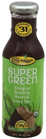 Cell nique Dark Chocolate Super Green - 12 oz
