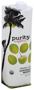 Purity Coconut Water Organic, 100%