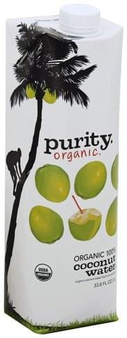 Purity Organic, 100% Coconut Water - 33.8 oz