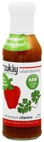 Zukay Salad Dressing Red Pepper Cilantro