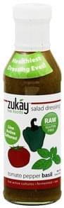 Zukay Salad Dressing Tomato Pepper Basil