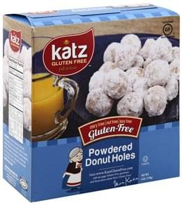 Katz Donut Holes Gluten Free, Powdered