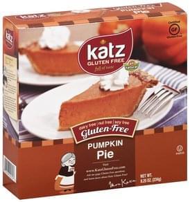 Katz Pie Gluten-Free, Pumpkin