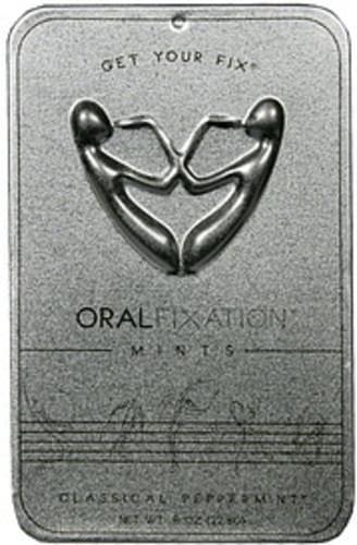 Oral Fixation Classical Peppermint Mints - 0.8 oz