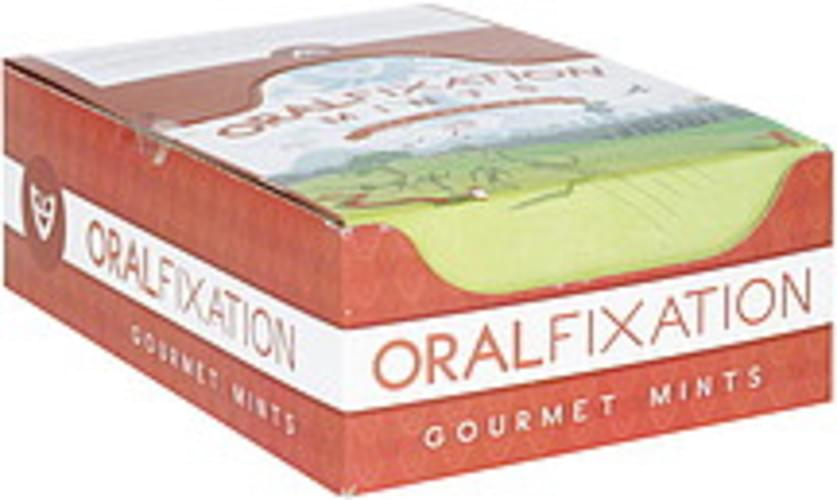 Oral Fixation Sugar Free Tibet, Wintergreen Gourmet Mints - 24 ea