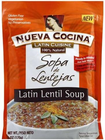 Nueva Cocina Latin Lentil Soup - 6 oz