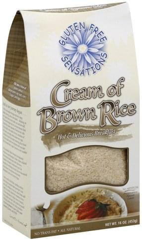 Gluten Free Sensations Cream of Brown Rice - 16 oz