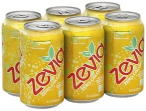 Zevia Soda Zero Calorie, Lemon Lime Twist