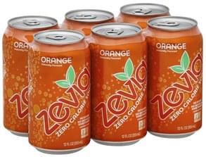 Zevia Soda Zero Calorie, Orange