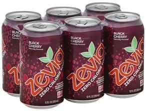 Zevia Soda Zero Calorie, Black Cherry