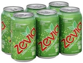 Zevia Soda Zero Calorie, Mountain Zevia