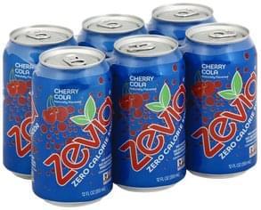 Zevia Soda Zero Calorie, Cherry Cola