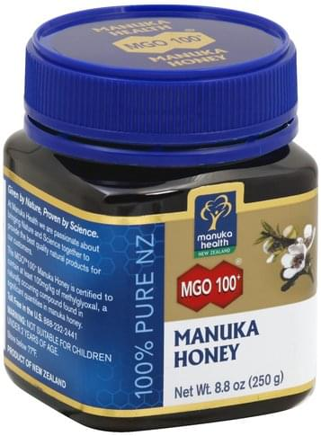 Manuka Health Manuka, MGO 100+ Honey - 8 8 oz, Nutrition