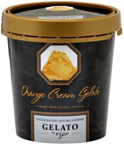 Espo Orange Cream Gelato - 1 pt