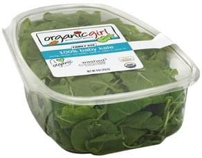 OrganicGirl Kale Organic, 100% Baby, Family Size