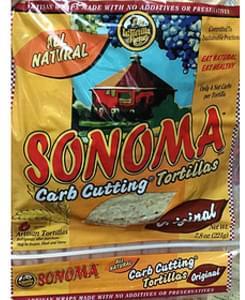La Tortilla Factory Sonoma Carb Cutting Tortillas Original