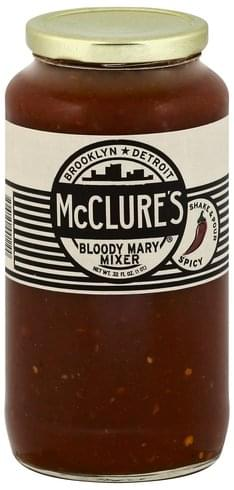 McClures Bloody Mary, Spicy Mixer - 32 oz