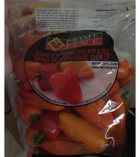 Prime Time Mini Sweet Peppers - 85 g