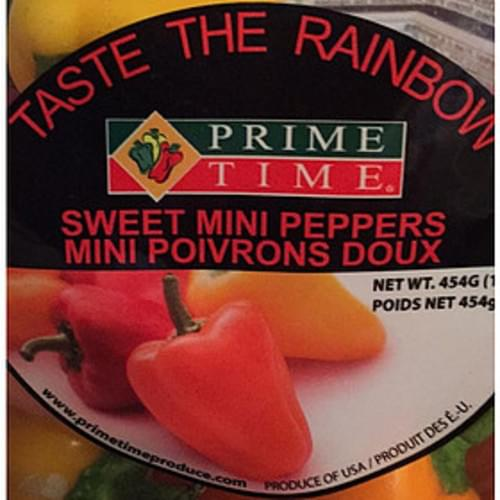 Prime Time Sweet Mini Peppers - 85 g