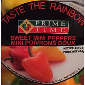 Prime Time Sweet Mini Peppers