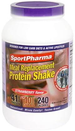 SportPharma Meal Replacement Protein Shake Strawberry