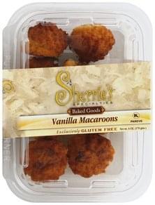 Sherries Macaroons Vanilla