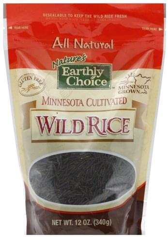 Natures Earthly Choice Wild Rice - 12 oz
