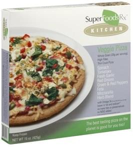 Super Foods Rx Pizza Veggie