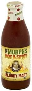 Murphs Bloody Mary Mix Hot & Spicy