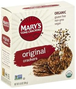 Marys Gone Crackers Crackers Organic, Original