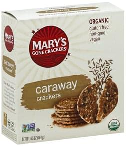 Marys Gone Crackers Crackers Caraway