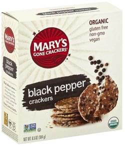 Marys Gone Crackers Crackers Organic, Black Pepper